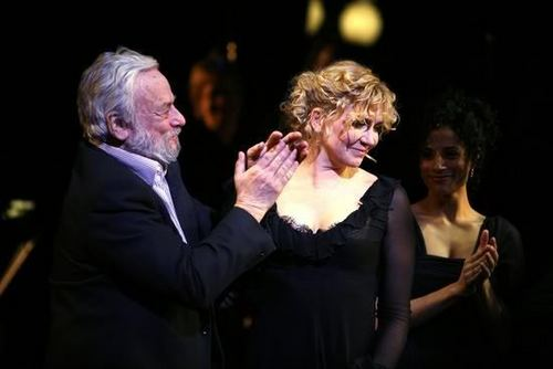 Sondheim and Natasha Richardson