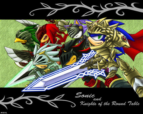 Sonic And The Knights Of The Round mesa