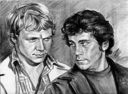 Starsky and Hutch (1975) দেওয়ালপত্র entitled Starsky and Hutch