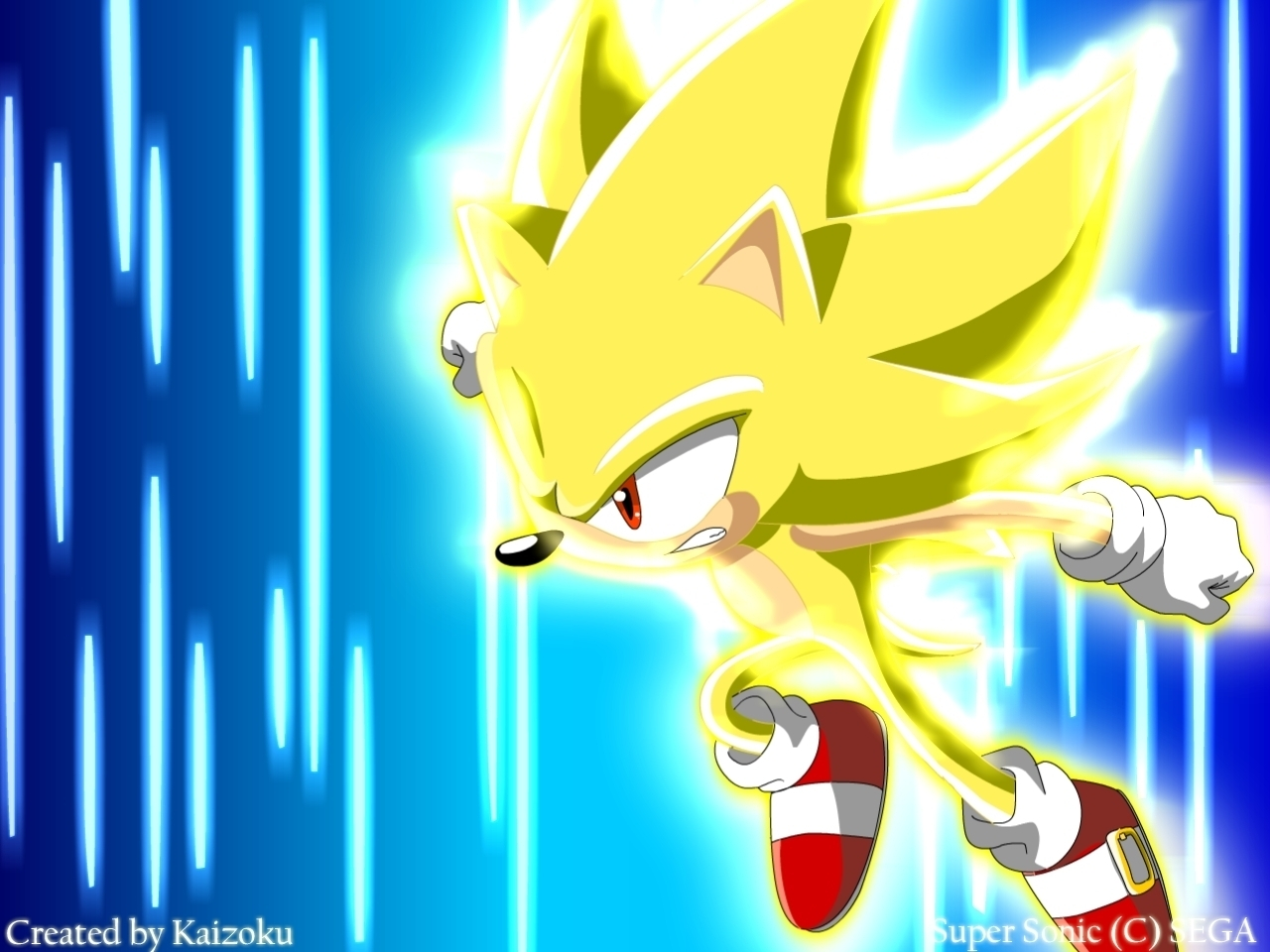 Super Sonic Wallpaper - SONIC X TV Wallpaper (20821281) - Fanpop ...