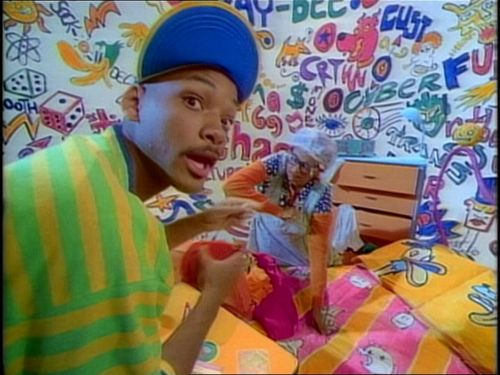 "The Fresh Prince of Bel-Air wallpaper entitled The Fresh Prince of Bel Air - 1x01 - ""The Fresh Prince Project"""