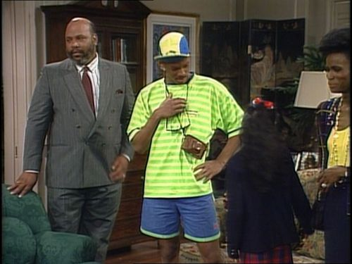 "The Fresh Prince of Bel-Air wallpaper containing a business suit entitled The Fresh Prince of Bel Air - 1x01 - ""The Fresh Prince Project"""