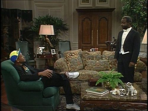 "The Fresh Prince of Bel-Air wallpaper possibly containing a drawing room, a drawing room, and a living room titled The Fresh Prince of Bel Air - 1x01 - ""The Fresh Prince Project"""