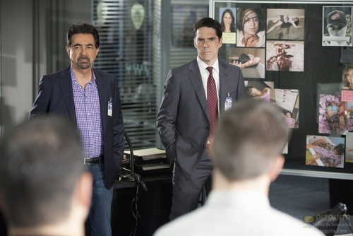 Criminal Minds achtergrond with a business suit and a suit entitled The Stranger stills (HQ)