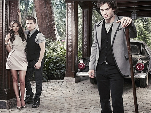 The Vampire Diaries TV Show wallpaper with a business suit, a well dressed person, and a suit called The Vampire Diaries ღ