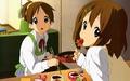 Ui Hirasawa and Yui Hirasawa