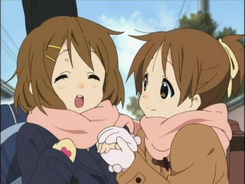 Ui Hirsawa and Yui