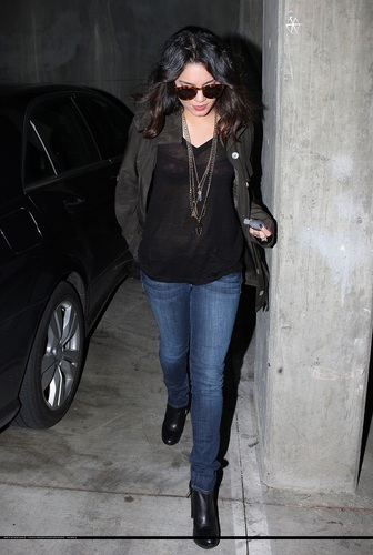 Vanessa - Out in West Hollywood - April 6th 2011