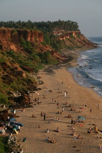 Varkala Beach - kerala Photo