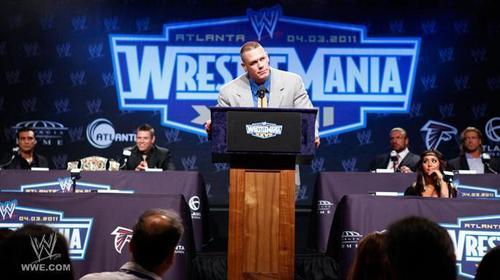 WM press conference