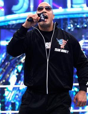 "Dwayne ""The Rock"" Johnson wallpaper with a concert titled Wrestlemania 27 April 3,2011"