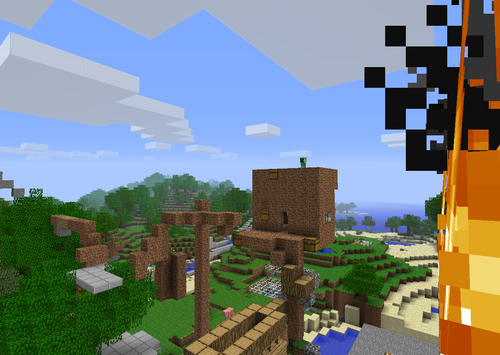 creeper in My Sky House