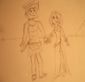 dXg ~ Cleopatra and Mark Antony ~ - total-drama-island fan art