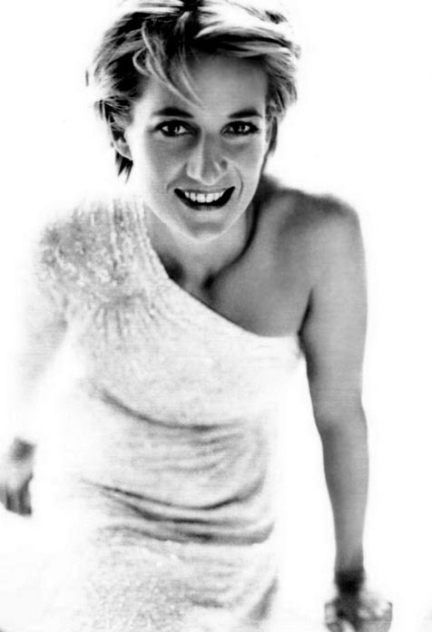 princess diana for vanity fair by mario testino