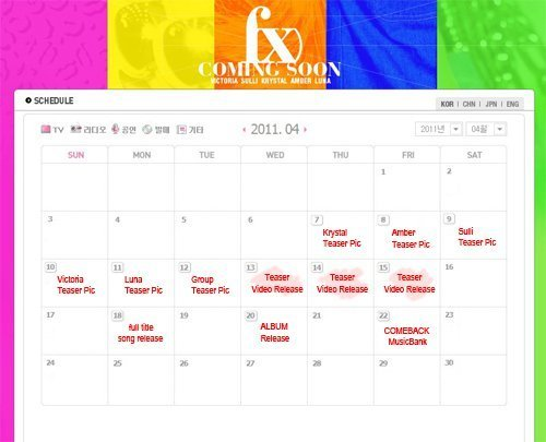 F(X) sched?? better be true