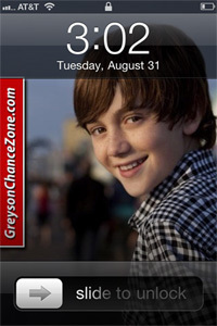 greyson chance hes on my घर लोल