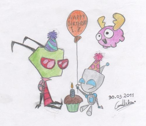 happy birthday invader zim