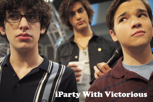 Avan Jogia wallpaper probably containing sunglasses and a portrait titled iParty with Victorious