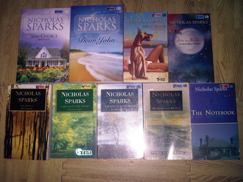 indonesian version of nicholas sparks livres