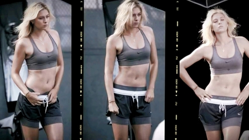 Maria Sharapova wallpaper probably with a bikini called maria sexy