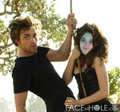 marionna and robert on the swing - twilight-series photo