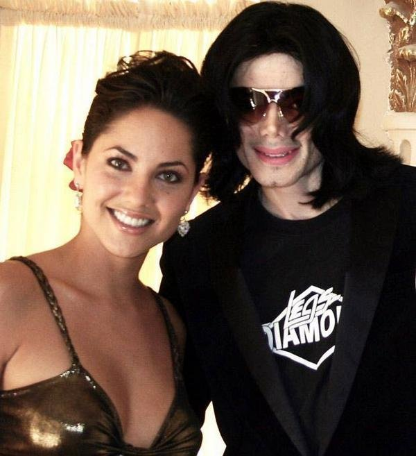 michael with barbara,queen_gina