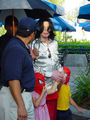 michael with prince+paris,queen_gina - michael-jackson photo