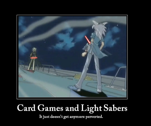 Yugioh The Abridged Series দেওয়ালপত্র possibly containing a wind turbine and a camera tripod entitled motivational
