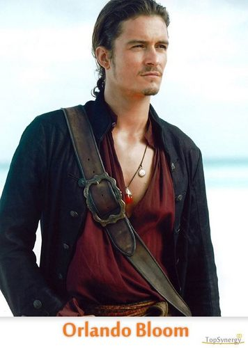 orlando bloom -pirates of the caribean
