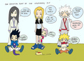 small sasuke,sakura and NARUTO -ナルト-