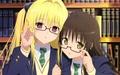 yami-sensei and mikan sensei