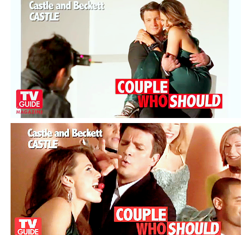 Nathan Fillion & Stana Katic wallpaper with a portrait titled <3Stanathan<3