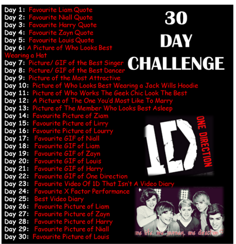 One Direction wallpaper with anime titled 1D = Heartthrobs (Enternal Love 4 1D) 30 Day Challenge! Love 1D Soo Much! 100% Real :) ♥