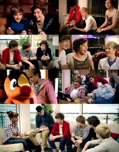 One Direction wallpaper probably containing a reading room, a brasserie, and a sign titled 1D = Heartthrobs (Enternal Love 4 1D) Advertising Pokemon! Love 1D Soo Much! 100% Real :) ♥