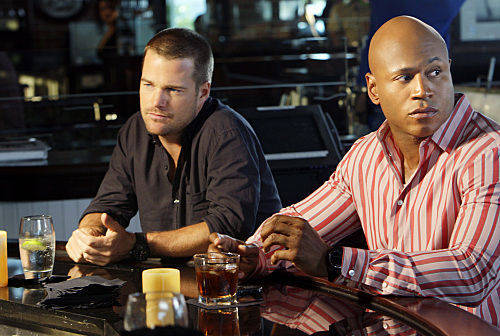 NCIS: Los Angeles wallpaper probably containing a brasserie, a coffee break, and a dinner called 1x03-Predator-promo