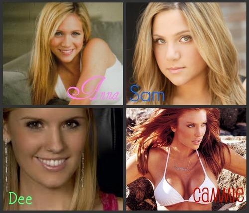 4 main girls