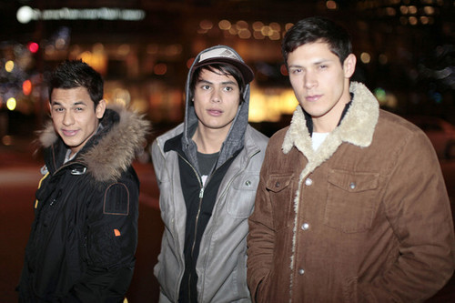 Alex Meraz, Bronson Pelletier And Kiowa Gordon Out And About In Vancouver
