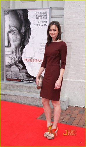 Alexis Bledel @ The Conspirator Premiere April 10, 2011