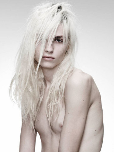 andrej pejic wallpaper probably containing skin entitled Andrej Pejic for Oyster Magazine