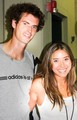 Andy Murray and Jessica Stella