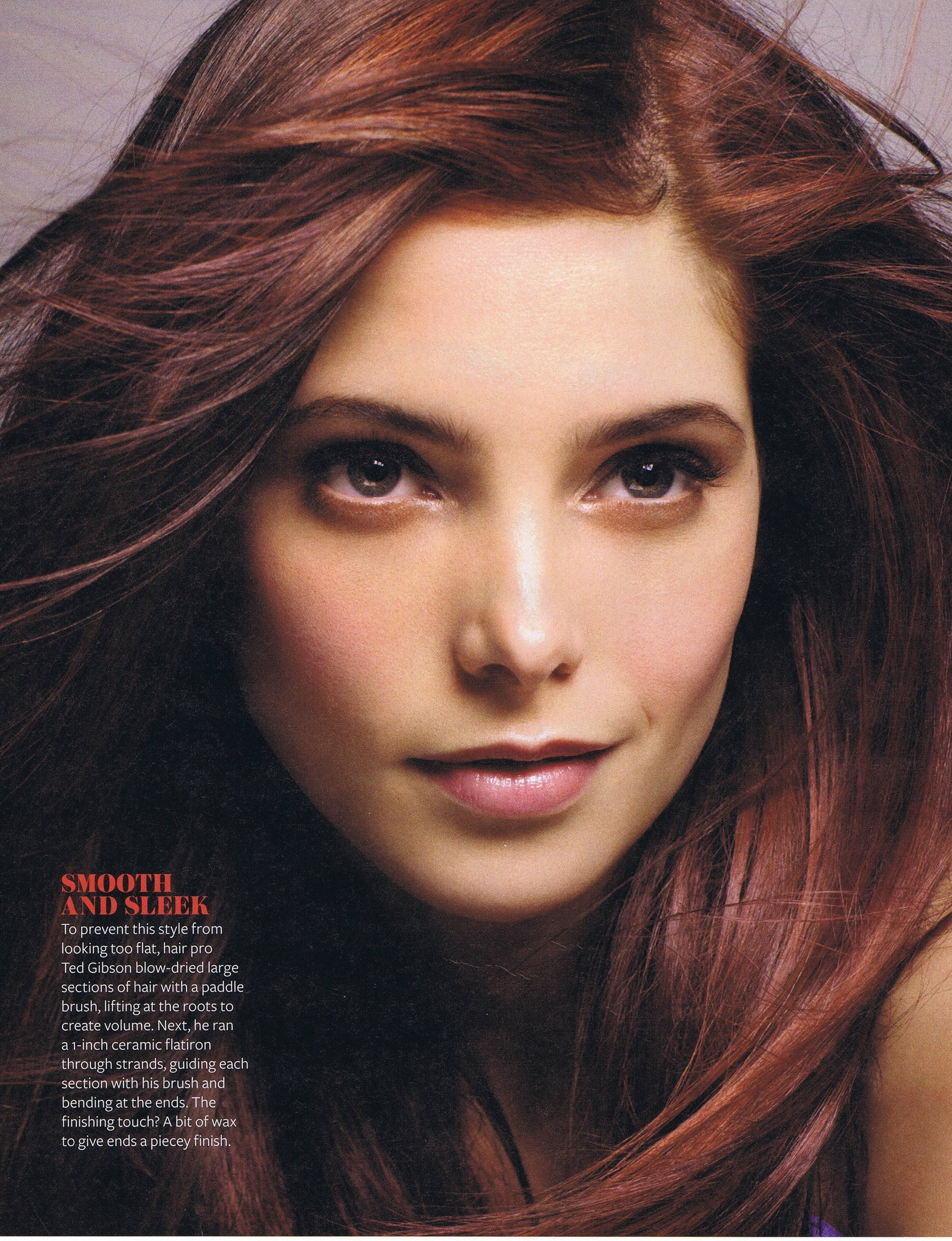 Ashley Greene Covers InStyle Hair 2011 recommend