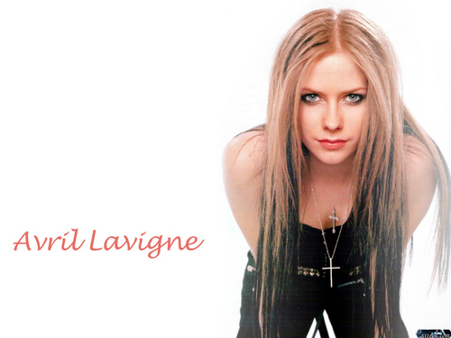 avril lavigne fondo de pantalla containing a portrait called Avril Lavigne