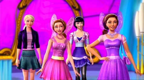 Barbie, Raquelle, Taylor & Carrie! - barbie-movies Photo