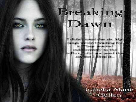 Bella cisne in Breaking Dawn