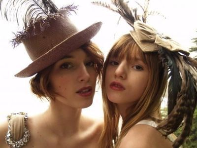 bella thorne fondo de pantalla containing a snap brim hat, a boater, and a fedora entitled Bella Thorne Photoshoots