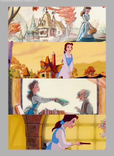 Belle: Final version vs Concept Art