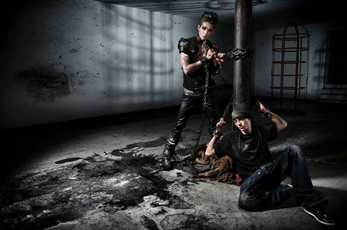 Tom & Bill Kaulitz fond d'écran possibly containing a fusilier, carabinier called Bill & Tom PETA