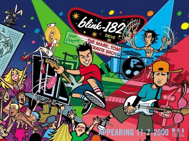 Blink 182 Wallpaper. Blink 182 lt;3