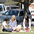 Candice on set of TVD 2x22: 'As I Lay Dying'! - caroline-forbes photo