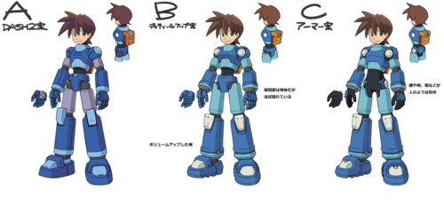 Capcom looking for प्रशंसक input on Mega Man Legends 3 'Mega Man' in-game model